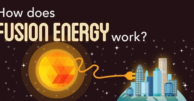 How Does Fusion Energy Work? Simple #Infographic
