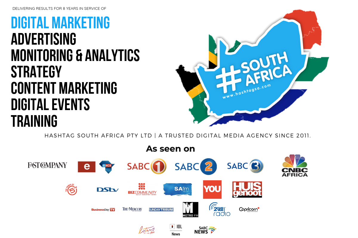 Hashtag South Africa - Digital Media Agency with Services in